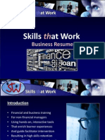 Skills at Work Presentation