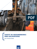 Safety in Ground Works and Excavations - Your Practical Guide