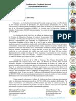 Comunicado Prensa 01 CEN