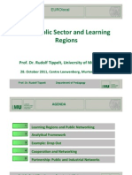 The Public Sector and Learning Regions