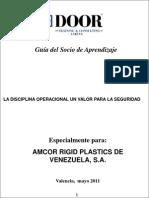 Manual La Disciplina Operacional Un Valor Para La Seguridad