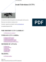 CCTV Destruction