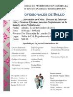 Promoción Profesionales Salud -12 de noviembre de 2011