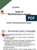 If301 Week10 SQL
