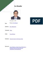 Dr. Gopal Kundu Wikipedia
