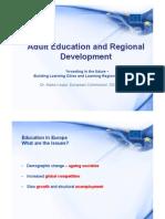 Adult Education and Regional Development