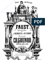 Gounod - Faust - Piano Vocal Score