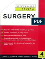 Surgery (Appleton&Lange Review)