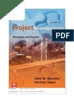 Handbook Project Management