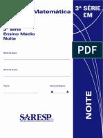 Saresp 2005 - 3º ano
