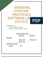 Practical File of Os 4 Sem