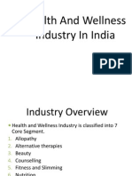 Health and Wellness Industry Overview