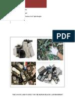 'E-waste management