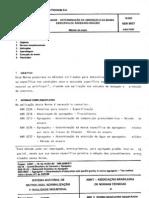 9937 ABSORÇÃO E MASSA ESPECIFICA DE AGREGADOS GRAUDOS