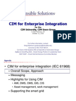 CIM for Enterprise Integration (IEC) 61968