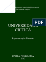 UniversidadeCrítica2012
