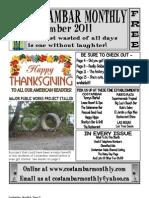 Costambar Monthly November 2011