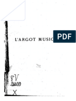 Argot Musical
