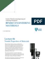 Em . 06 . Tensile Properties of Materials