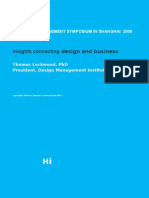 Insights Connecting Design and Business
