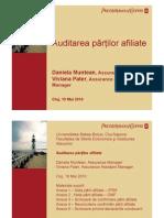 Auditarea partilor afiliate