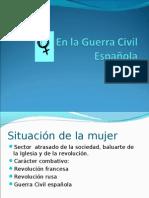 Mujer guerra civil española
