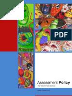 Assessment Policy - September 2011