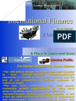 Meeting 1 - Introduction to Multinational Enterprise and Multinational Financial Management
