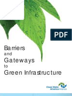 Barriers and Gateways to Green Infrastructure