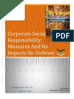 Strategic Management-Assignment No. 02