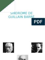 Presentación Síndrome Guillain Barre final