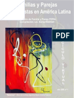 FAMILIAS Y PAREJAS PSICOANALISTAS EN AMERICA LATINA - KLEIMAN