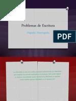 Transtornos de escritura (1)