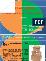 capacitación BPA GRUPO MARTIN
