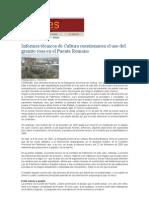 Informes Sobre El Puente Romano