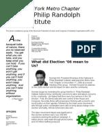 Apri Metro Newsletter 2006