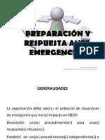 4.4.3 Preparación y respuesta ante emergencias