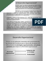 Desarrollo y Cambio Organizacional