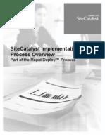 Site Catalyst Implementation Overview v3.0