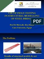 Modelling Steel Bridges Using Field Testing