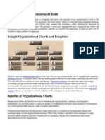 Introduction to Organizational Charts
