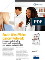ChristianSteven Software  South West Wales Cancer Network Case Study for CRD