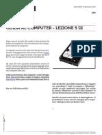 Guida al Computer - Lezione 5