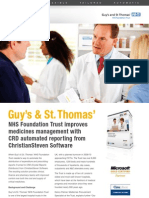 ChristianSteven  Guys St Thomas's Case Study for CRD