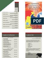 IV English Day Program Brochure 2011