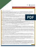 Metodologia Para AvaliaÇÃo e to Das Cartas Educativas
