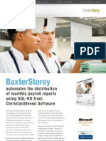 ChristianSteven Baxter Storey Case Study for SQL-RD