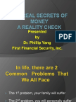 FFS the Secret of Money Saving Power Point Presentation