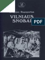 Sergejus Rapoportas Vilniaus Snobai 1994