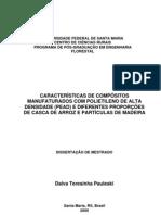 CARACTERÍSTICAS DE COMPÓSITOS